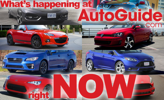 AutoGuideNow sports car shootout