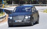 Bentley SUV Spied Hot Weather Testing