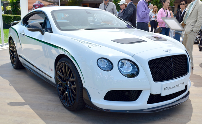 Bentley Continental GT3-R Breaks Cover at Pebble Beach