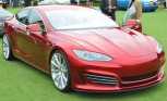 Tesla Model S Gets Steve Saleen Spin at Pebble Beach