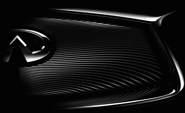 Infiniti Teases Big Paris Motor Show Reveal