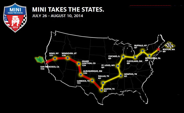 MINI Takes the States2