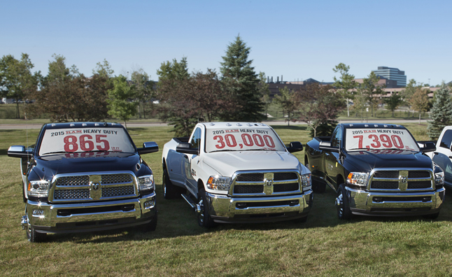 2015 Ram pickup trucks with best-in-class fuel economy and capab