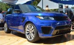 Range Rover Sport SVR Looks Reservedly Rambunctious on The Quail