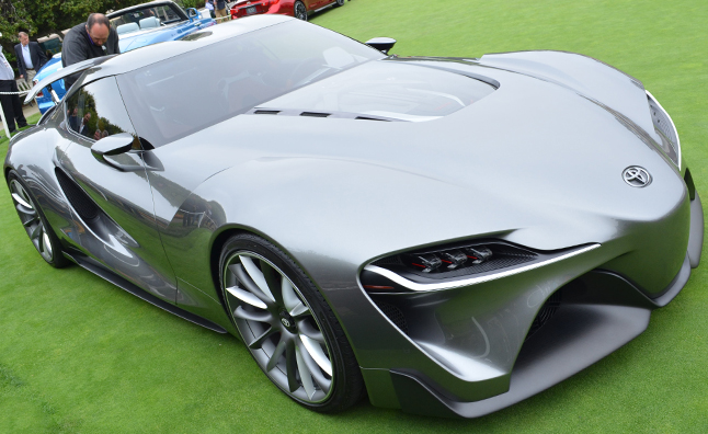 Toyota FT-1 Concept Grays out Pebble Beach Concept Lawn