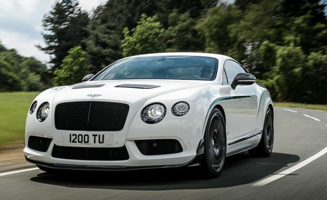 Bentley Continental GT3-R Priced at $337,000
