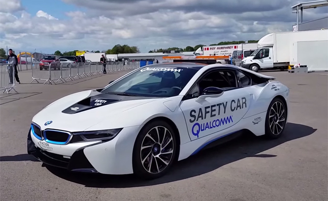 BMW i8 Named Official Formula E Safety Car