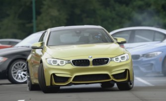 BMW M4 Gets Initiated in New Drift Video