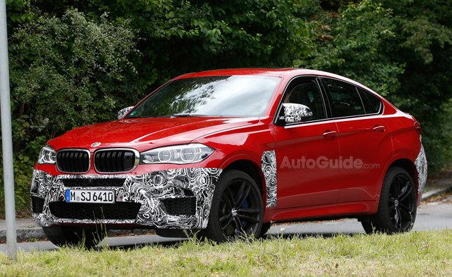 2015 BMW X6 M Sheds Camo as it Nears Production