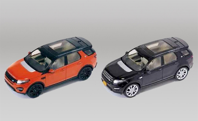 Land Rover Discovery Sport Revealed in Miniature Form
