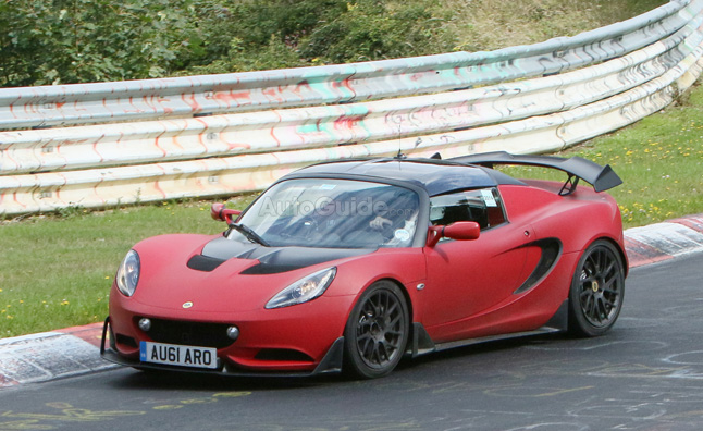 Lotus Elise R Spied Testing at the Nürburgring