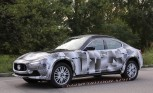 Maserati Levante Spied for the First Time