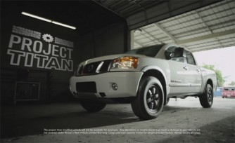 Crowdsourced Nissan Project Titan Kicks Off