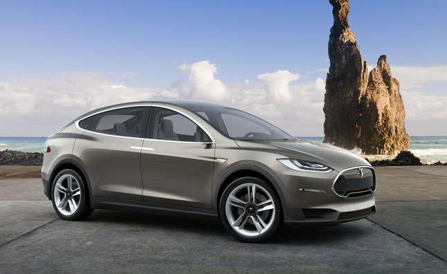 Tesla Model X 'Ready to Feast' on Premium SUV Market
