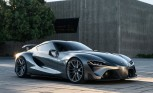 Toyota FT-1 Concept Re-Revealed With Sinister New Look