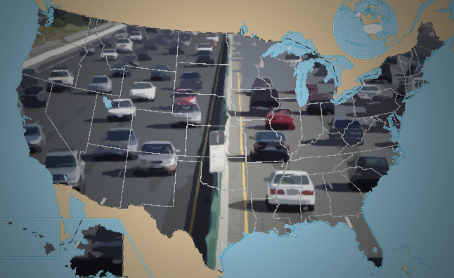 Top 10 States with the Rudest Drivers