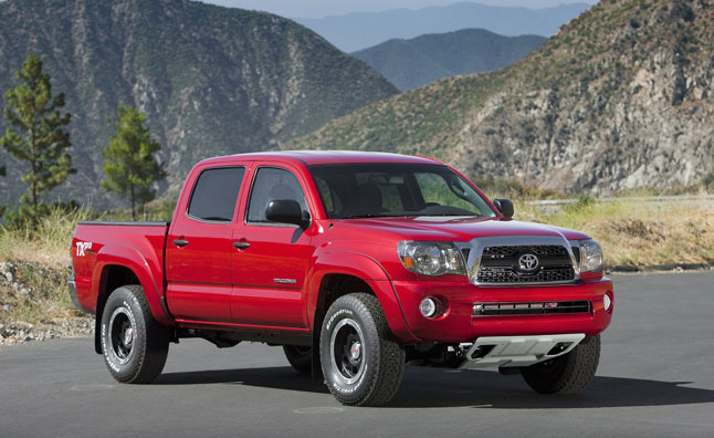 Toyota Recalls 690,000 Tacomas for Faulty Leaf Springs