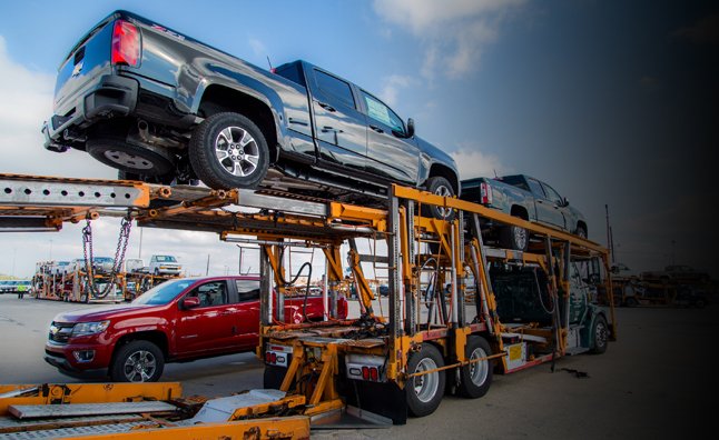 Chevrolet Colorado GMC Canyon Shipping to Dealers