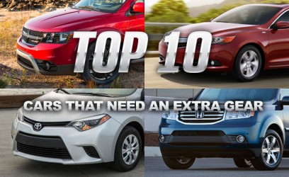 Top 10 Cars That Need An Extra Gear (or two)