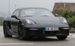 Porsche Cayman Spied Testing with a Facelift