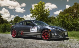 Targa Newfoundland Scion FR-S Gets A Facelift