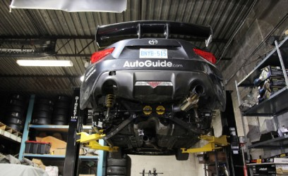 Targa Newfoundland Scion FR-S Gets Suspension Mods