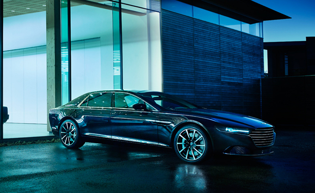Aston Martin Lagonda's Interior is a Work of Art