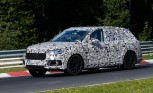Audi Q7 Plug-in Hybrid Spied on the Nürburgring