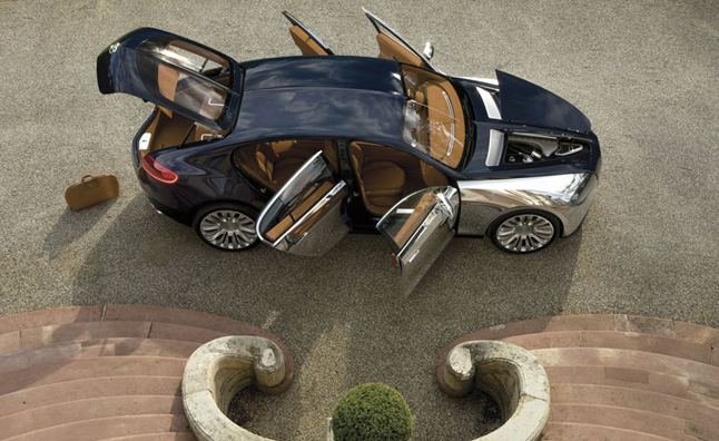 Bugatti Galibier 'On Ice,' Could Still be Built