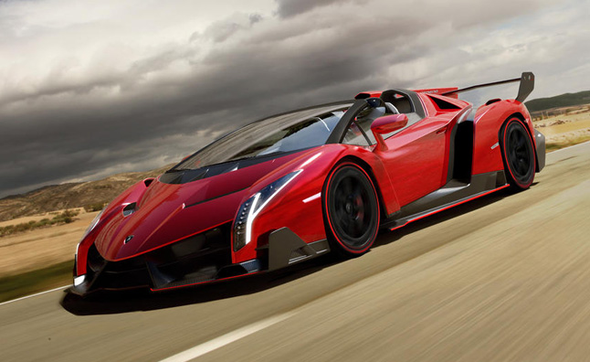 Lamborghini Veneno Roadster For Sale at $7.4M
