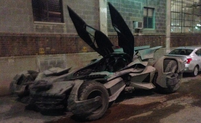 New Batmobile Spotted in Detroit