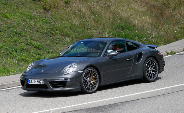 Porsche 911 Turbo Spied with 992 Treatment