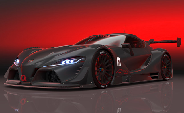 Toyota FT-1 Vision GT Now Available in GT6