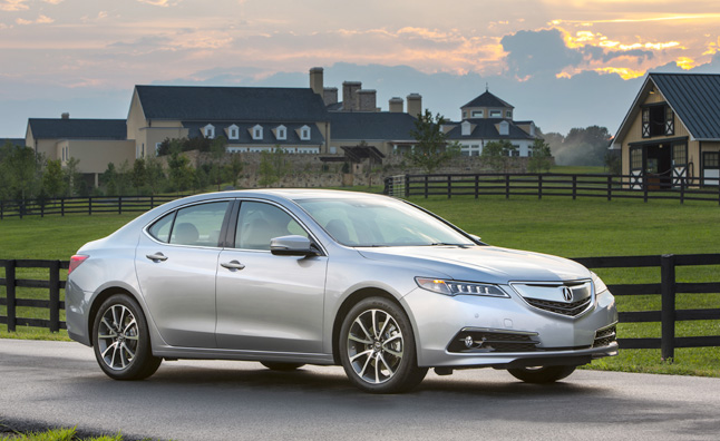 2015 Acura TLX Recalled for Incorrect Label