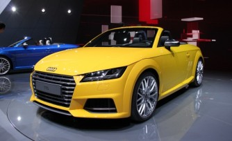 Audi TT Goes Topless in Paris