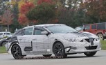 2016 Nissan Maxima Spied Testing