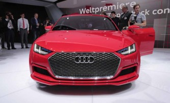 Audi TT Sportback Concept Video, First Look