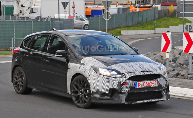 Ford Focus RS Spied Training to Fight Civic Type R