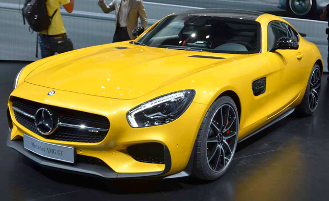 AMG GT Revealed - Live Photos/Video from Paris - Mercedes