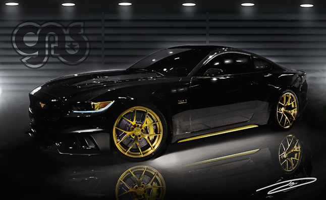 Mustang Stampede Galloping to SEMA