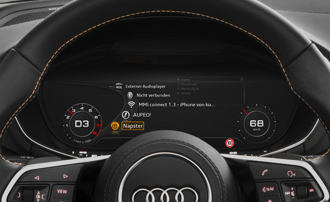 Audi Connect Adds Online Media Streaming Services