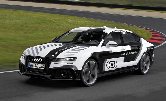 Self-Driving Audi RS7 Detailed