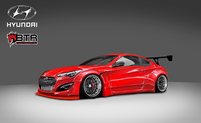 Custom Hyundai Genesis Coupe Added to SEMA Roster