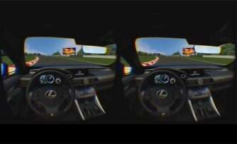 Lexus RC F Enters Virtual Reality With Oculus Rift