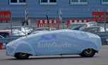 Mysterious Mercedes Concept Car Spied Testing