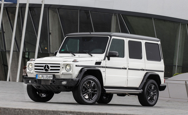 Mercedes G-Class Edition 35 Celebrates Anniversary