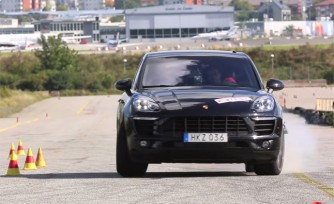 Porsche Macan Takes Infamous Moose Test'