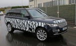 Range Rover Long Wheelbase Spy Photos Hint at High-Performance SVR Model