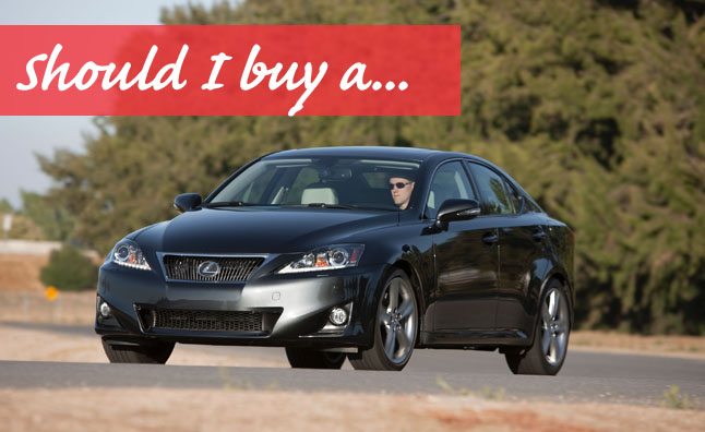 used lexus is review