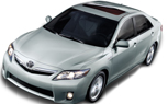 2010 Toyota Camry: Larger 2.5L 4-Cyl with 21 more HP